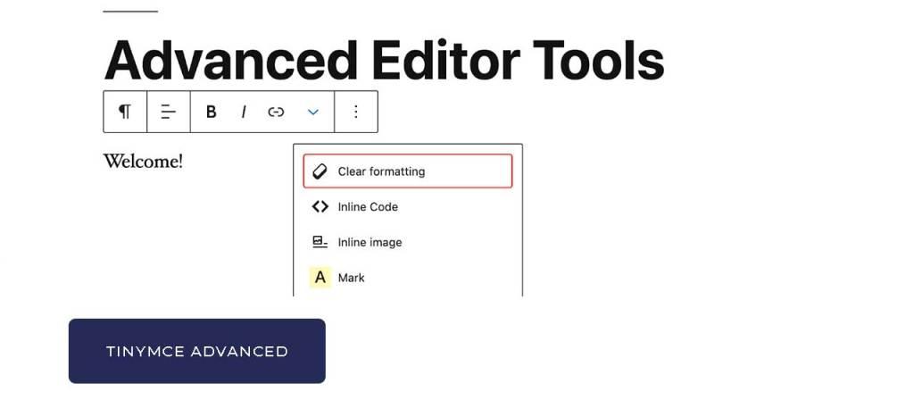 Advanced Editor Tools (già conosciuto come TinyMCE Advanced)