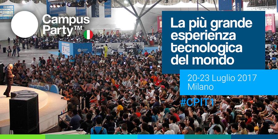 Campus Party Italia 2017 #CPIT1