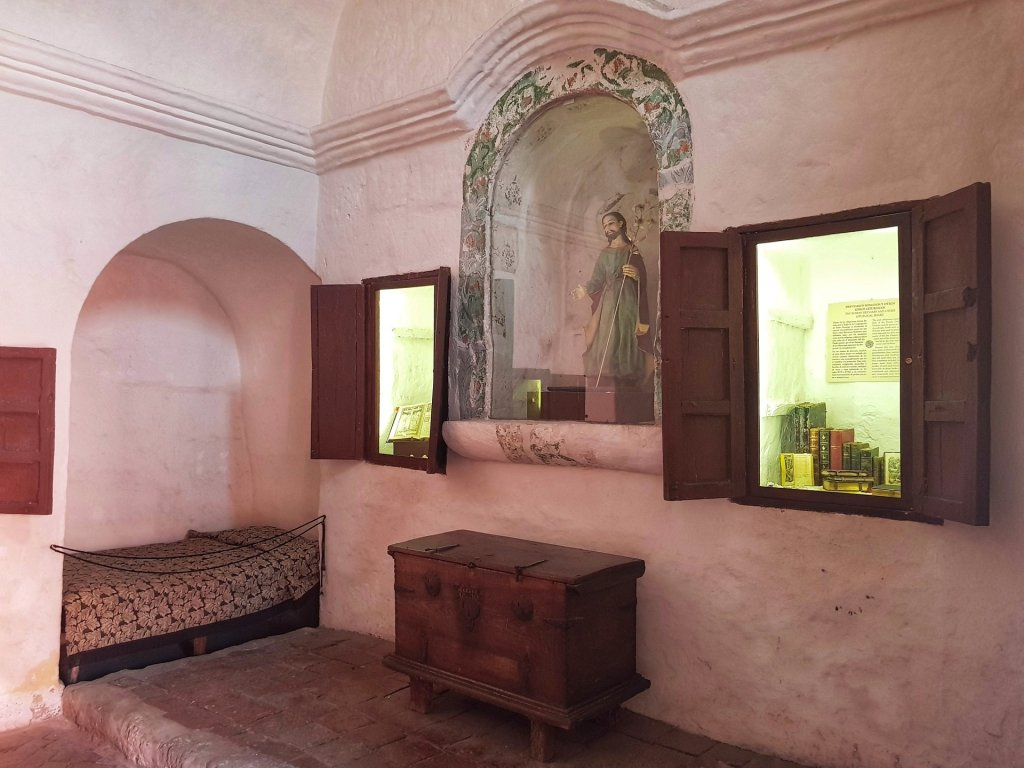 monastero santa caterina camera monache