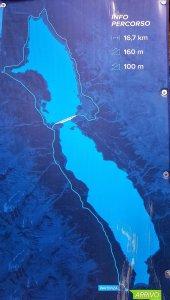 bacheca percorso lago di cancano