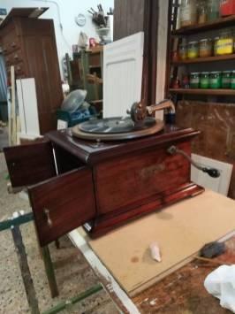 Restauro grammofono