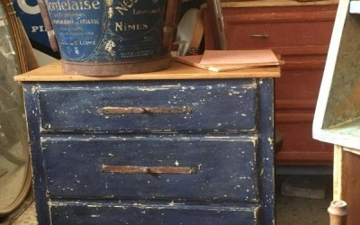 Restyling of Louis XVI style bedside tables