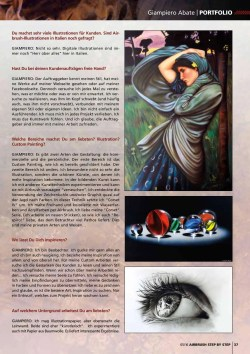 Giampiero Abate Interview on Airbrush Step by Step Magazine