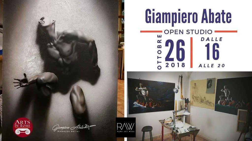 Open Studio Rome Art Week 2018