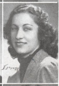 Irma Scenna, yearbook photo