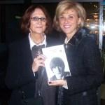 Giancarla Paladini con Julia Baird, sorella di J. Lennon