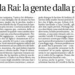 Petizioni alla Rai: la gente dalla parte di Cerrelli.