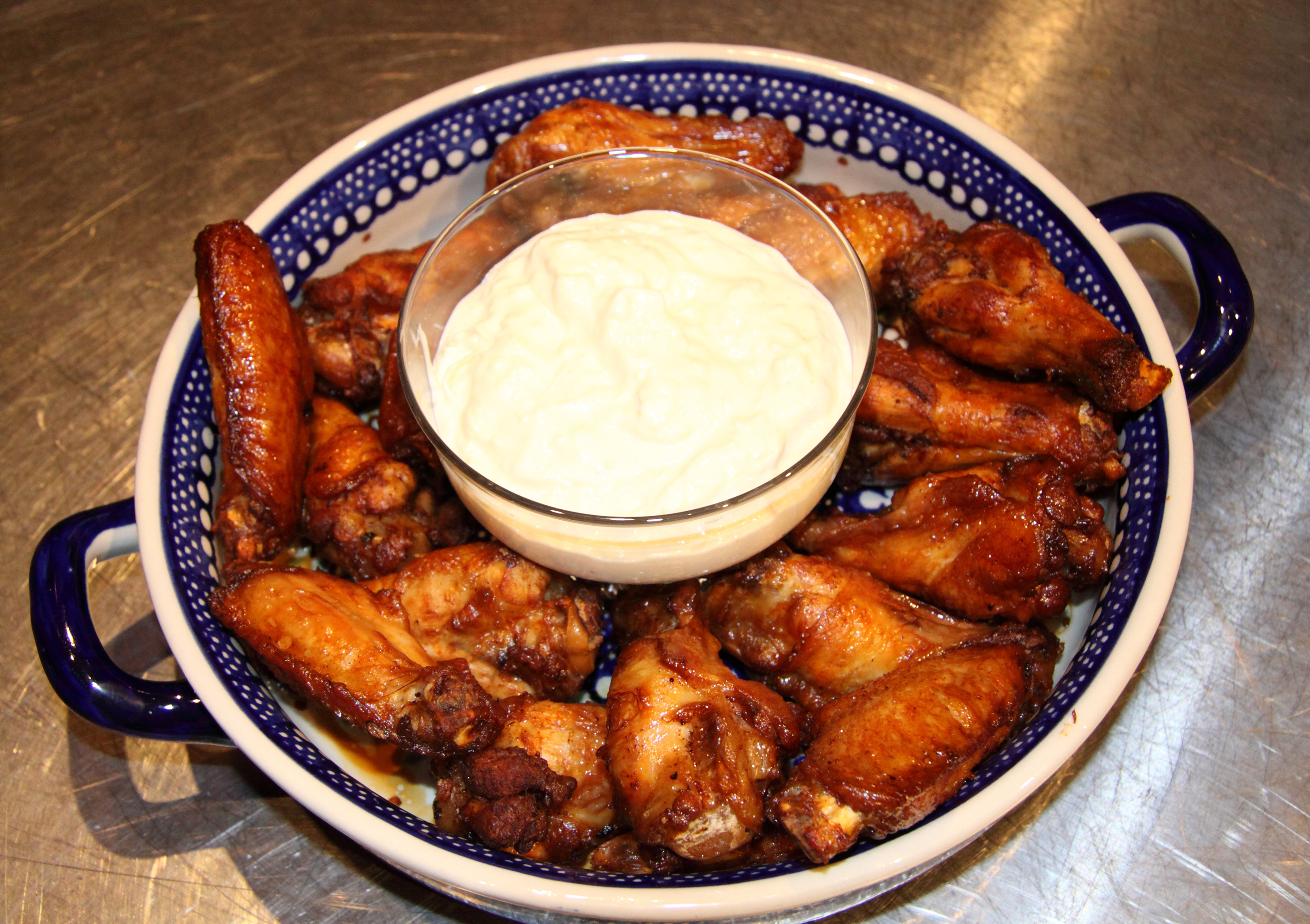 Chicken Wings with Ginger Sauce