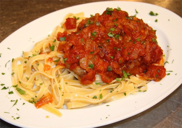 Swordfish-with-tomatoes-capers-and-fettuccine-8x6.JPG