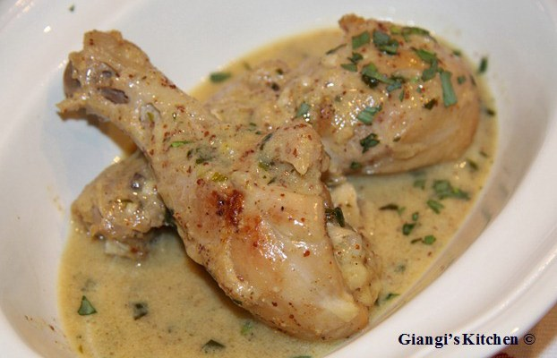 Chicken Dijon - New Flavors