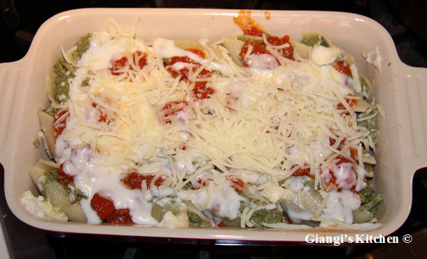 stuffed jumbo shell pasta