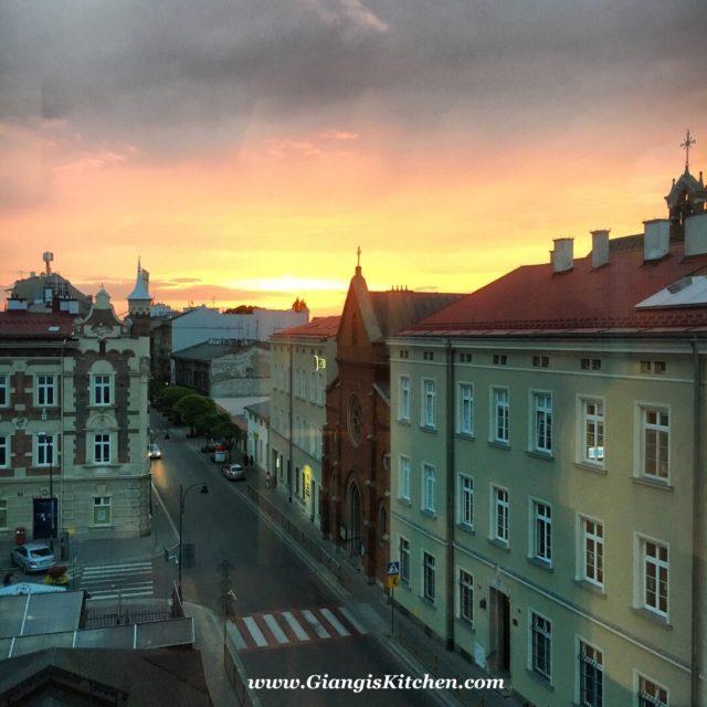 Krakow room view