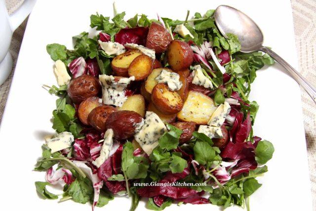 porc chops with vinaigrette