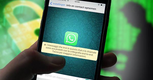 Ultimo aggiornamento WhatsApp:  privacy o pura fantasy?