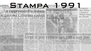 Photo of Il 1991 sugli organi di stampa