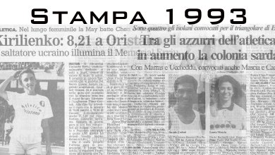 Photo of Il 1993 sugli organi di stampa