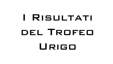 Photo of I risultati del Trofeo Urigo