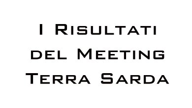 Photo of I risultati del Meeting Terra Sarda