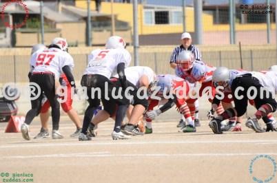 Crusaders Cagliari vs Daemons Martesana, 6-48, 16 ottobre 2011 10