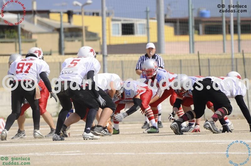 Crusaders Cagliari vs Daemons Martesana, 6-48, 16 ottobre 2011 11