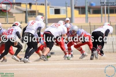 Crusaders Cagliari vs Daemons Martesana, 6-48, 16 ottobre 2011 12