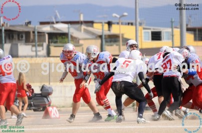 Crusaders Cagliari vs Daemons Martesana, 6-48, 16 ottobre 2011 13