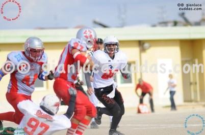 Crusaders Cagliari vs Daemons Martesana, 6-48, 16 ottobre 2011 132