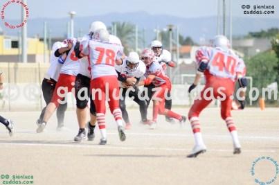 Crusaders Cagliari vs Daemons Martesana, 6-48, 16 ottobre 2011 145