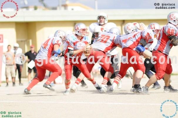 Crusaders Cagliari vs Daemons Martesana, 6-48, 16 ottobre 2011 152