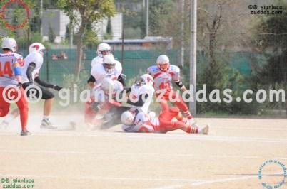 Crusaders Cagliari vs Daemons Martesana, 6-48, 16 ottobre 2011 18