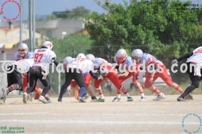 Crusaders Cagliari vs Daemons Martesana, 6-48, 16 ottobre 2011 23