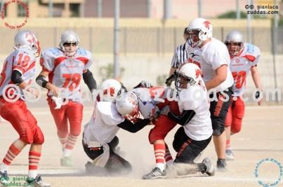 Crusaders Cagliari vs Daemons Martesana, 6-48, 16 ottobre 2011 253