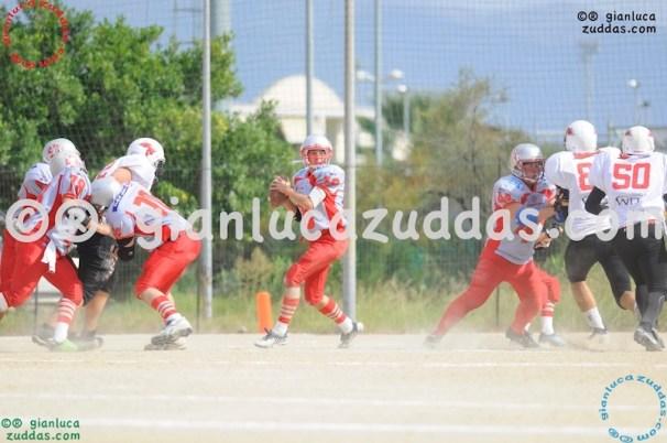 Crusaders Cagliari vs Daemons Martesana, 6-48, 16 ottobre 2011 26