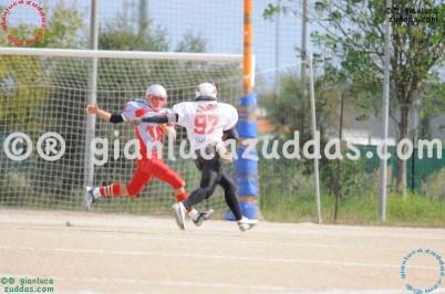 Crusaders Cagliari vs Daemons Martesana, 6-48, 16 ottobre 2011 29
