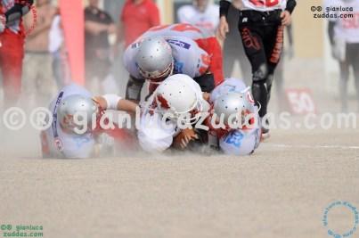 Crusaders Cagliari vs Daemons Martesana, 6-48, 16 ottobre 2011 301