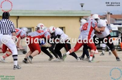 Crusaders Cagliari vs Daemons Martesana, 6-48, 16 ottobre 2011 316