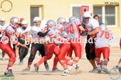 Crusaders Cagliari vs Daemons Martesana, 6-48, 16 ottobre 2011 321