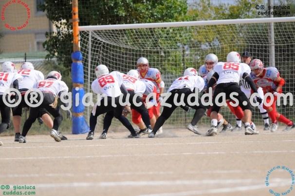 Crusaders Cagliari vs Daemons Martesana, 6-48, 16 ottobre 2011 37