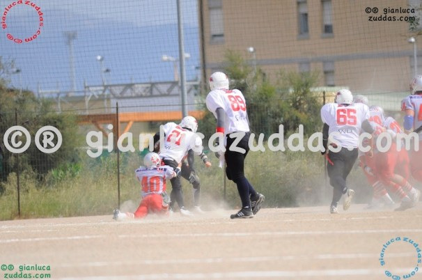 Crusaders Cagliari vs Daemons Martesana, 6-48, 16 ottobre 2011 38