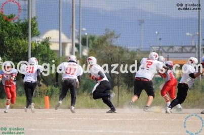 Crusaders Cagliari vs Daemons Martesana, 6-48, 16 ottobre 2011 45