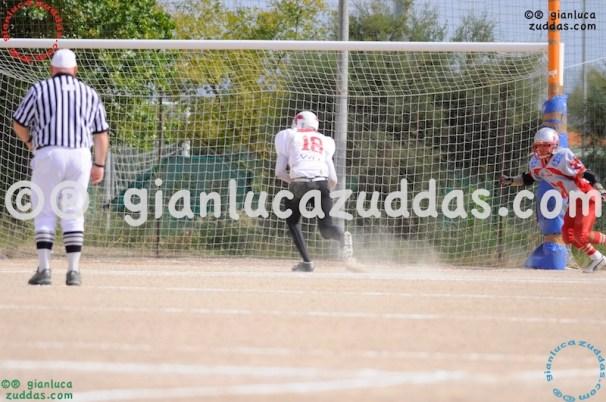 Crusaders Cagliari vs Daemons Martesana, 6-48, 16 ottobre 2011 48