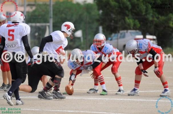 Crusaders Cagliari vs Daemons Martesana, 6-48, 16 ottobre 2011 63