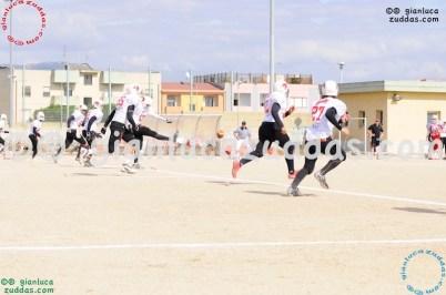 Crusaders Cagliari vs Daemons Martesana, 6-48, 16 ottobre 2011 8