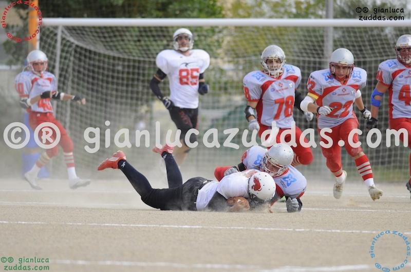 Crusaders Cagliari vs Daemons Martesana, 6-48, 16 ottobre 2011 84