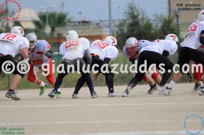 Crusaders Cagliari vs Daemons Martesana, 6-48, 16 ottobre 2011 88