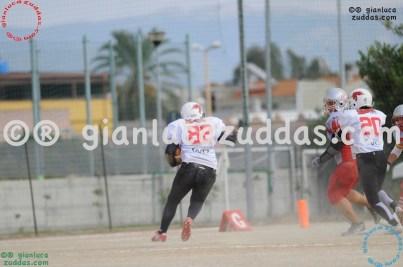Crusaders Cagliari vs Daemons Martesana, 6-48, 16 ottobre 2011 90