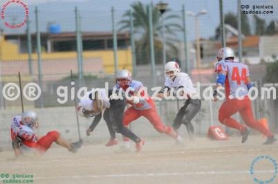 Crusaders Cagliari vs Daemons Martesana, 6-48, 16 ottobre 2011 94
