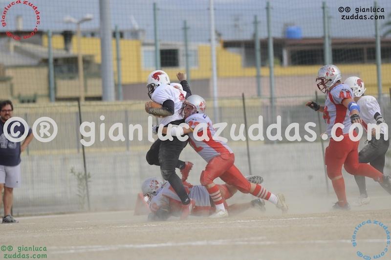Crusaders Cagliari vs Daemons Martesana, 6-48, 16 ottobre 2011 98