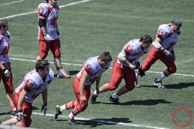 Crusaders Cagliari vs Dragons Salento, 48-0, 29 maggio 2011 12