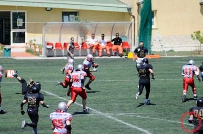Crusaders Cagliari vs Dragons Salento, 48-0, 29 maggio 2011 125